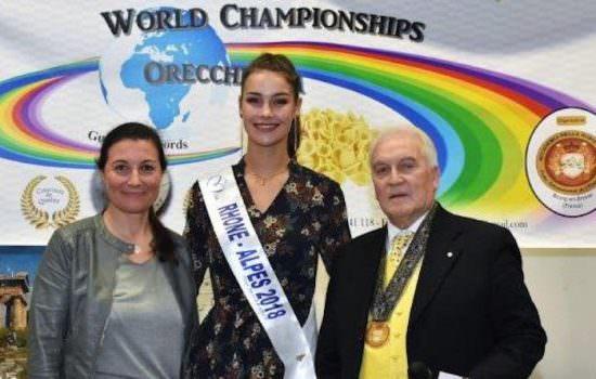 1 ° Campionato del Mondo dell'Orecchietta e Guinness Worl Record
