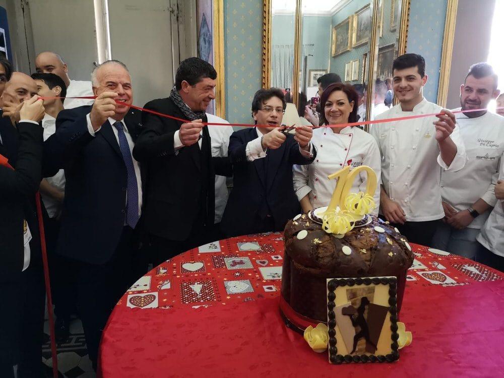Roma, Fiasconaro inaugura la Fiera Nazionale del panettone e del pandoro