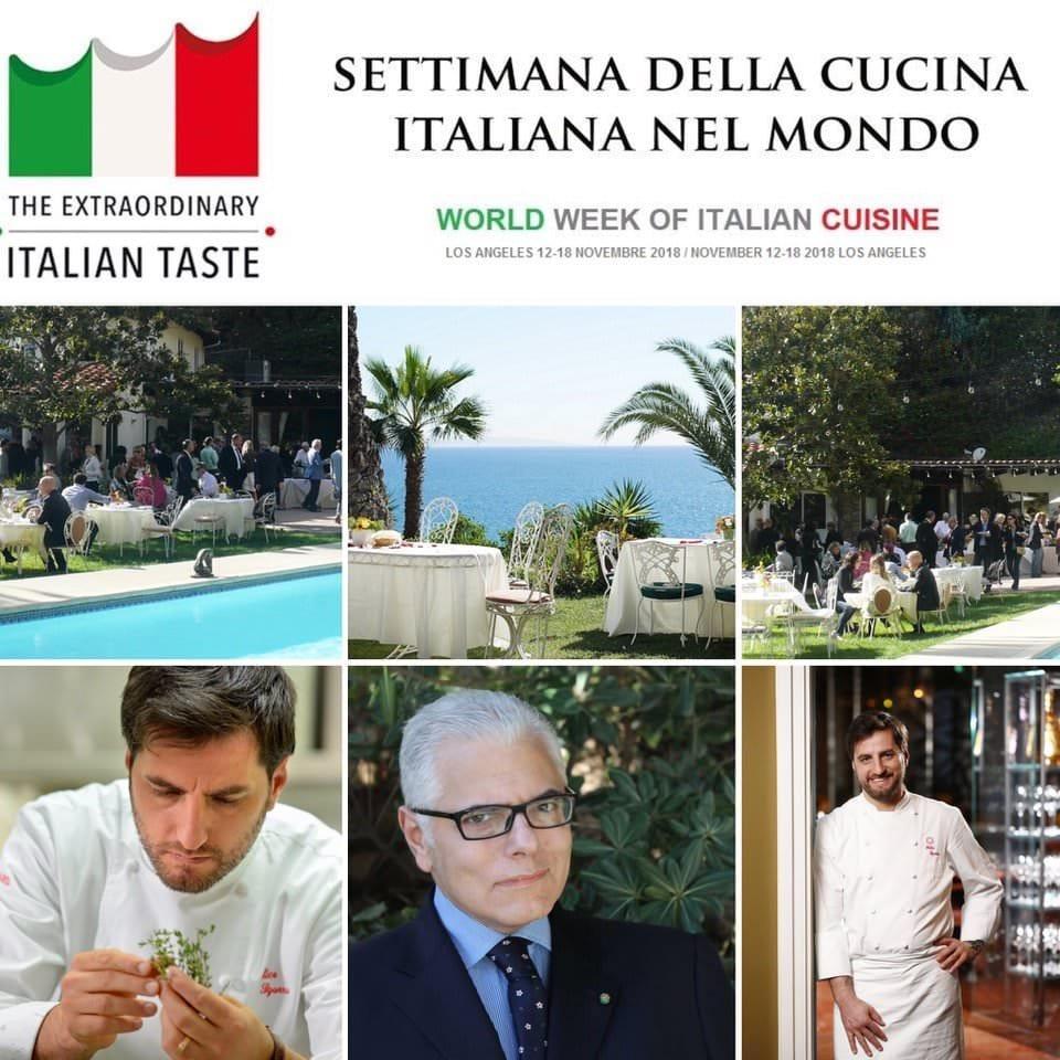 Lo chef Felice Sgarra rappresenterà l'Italia alla Terza settimana della Cucina italiana nel mondo