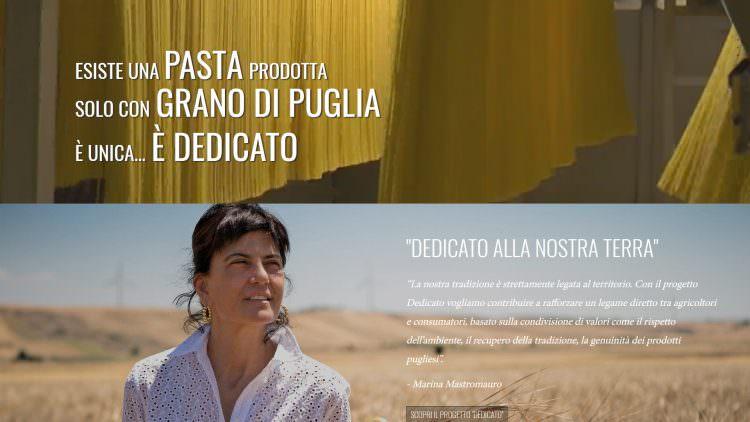 """""""Dedicato"""" alla filiera. Pastificio Granoro presenta il nuovo sito web"""