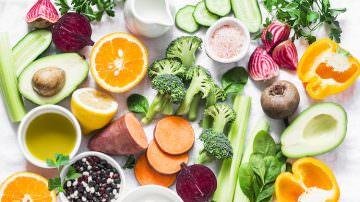 Frutta e verdure fresche contro le rughe e per mantenersi in salute