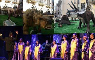Dinosauri di Boscosauro e cori Gospel in città ad Altamura
