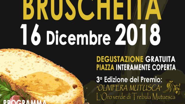 Sagra della Bruschetta, Monteleone Sabino celebra il suo olio d'oliva