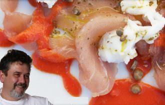 Piatti stellati di chef Sartini a casa anche a Natale