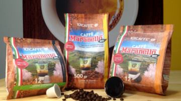 101CAFFE' Maranello bio: 20% arabica, 80% robusta… turbo!