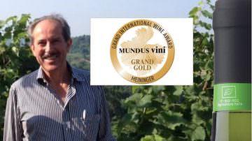 Mundus Vini Biofach 2019 Medaglia d'Oro per Pinot Grigio Perlage