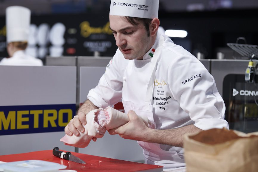 Bocuse d'Or:  Italia 15° posto con Martino Ruggeri