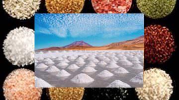 I colori del sale da cucina: tanti colori e sapori da tutto il mondo