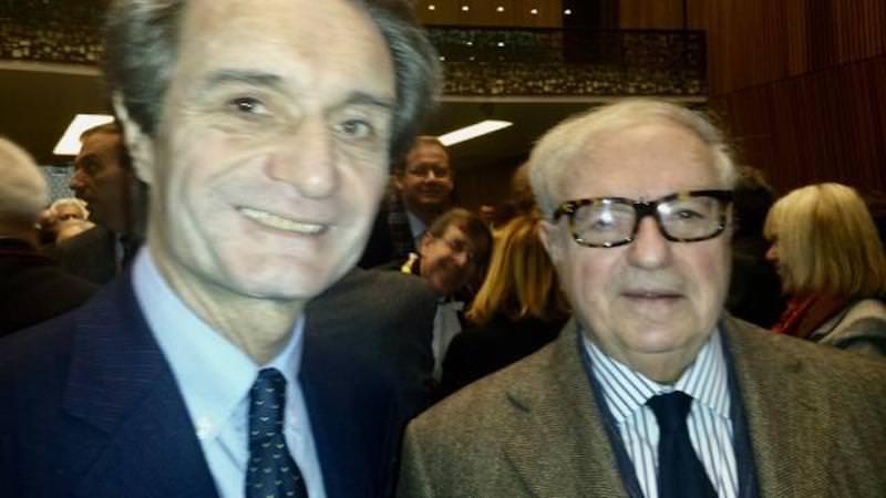 Attilio Fontana incontra Colombo Clerici – Regione Lombardia e Assoedilizia