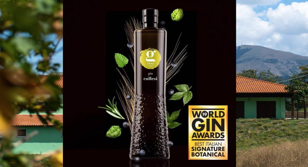 World Gin Awards 2019 a Gin Saaz Collesi, miglior gin italiano per il suo mix di botaniche