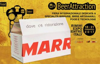 MARR  PROTAGONISTA  A  BEER & FOOD ATTRACTION – RIMINIFIERA