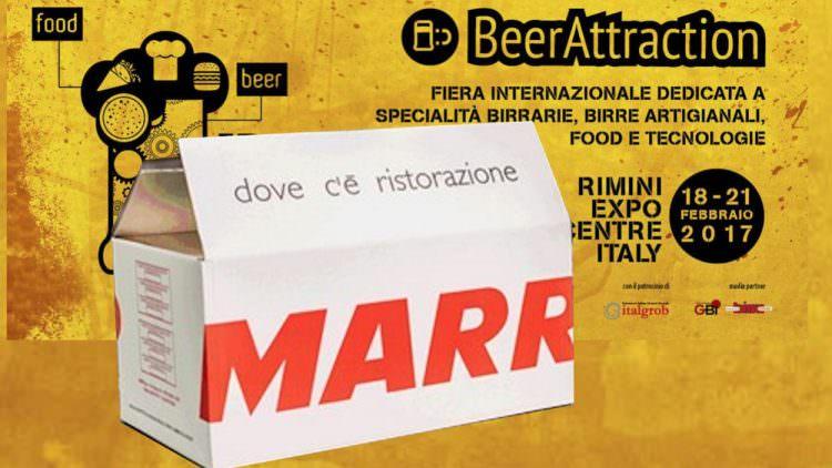 MARR  PROTAGONISTA  A  BEER & FOOD ATTRACTION – RIMINIFIERA
