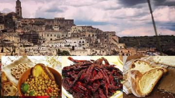MATERA CAPITALE, Matera Open Future … ma coi piatti della tradizione