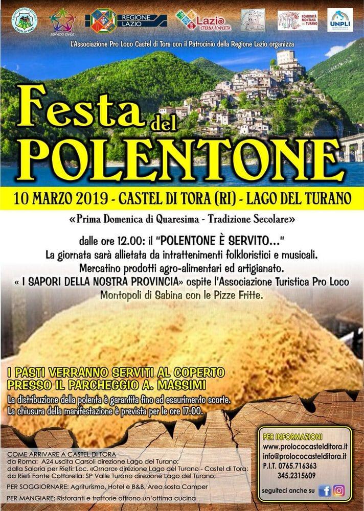 Inizia la Quaresima e a Castel di Tora (RI) torna il rito del polentone – 10 marzo