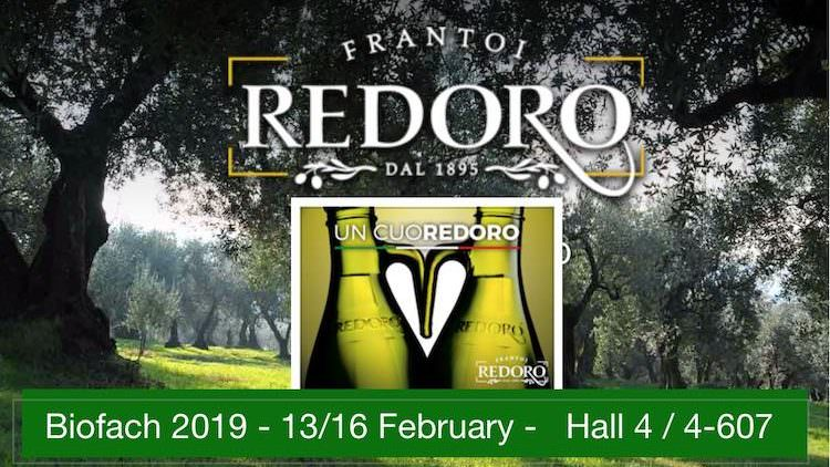 Redoro Extravirgin Olive Oil since 1895 at Biofach 2019