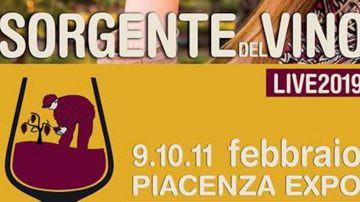 Sorgente del vino LIVE… piccole cantine, piccoli vignaiuoli in mostra a Piacenza