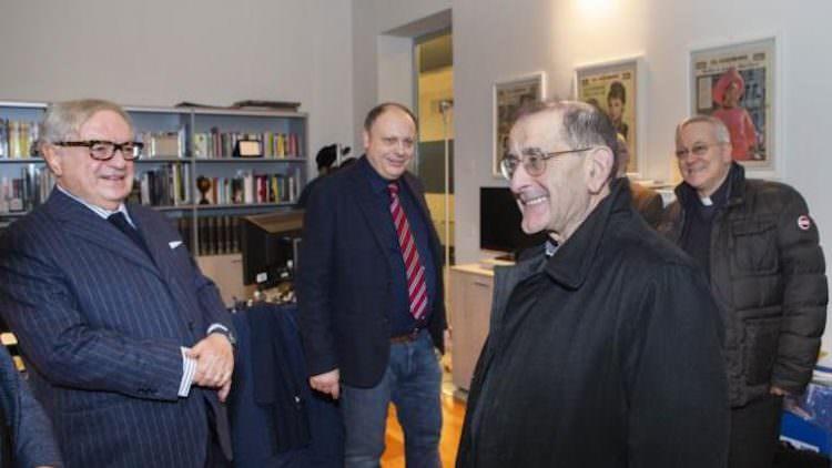 Monsignor Mario Delpini, l'informazione dia anche messaggi di speranza