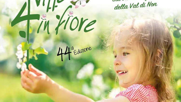 """A Tassullo la primavera si festeggia con la """"Quattro Ville in Fiore"""""""