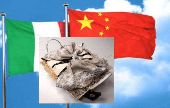 Colomba Fiasconaro a  Xi Jinping – Palermo 23 marzo 2019