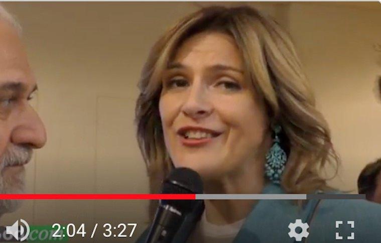 Angela Colmellere, Deputata, nello stand Carpenè a Vinitaly 2019 (Video)