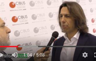 Antonio Cellie a Cibus Connect 2019: Parma n° 1 del food Made in Italy (Video)