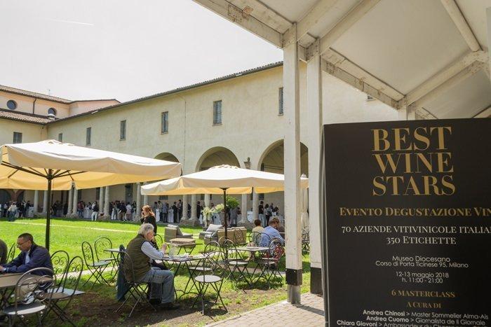 BEST WINE STARS: A MILANO IL WEEKEND TRA MASTERCLASS E BANCHI D'ASSAGGIO