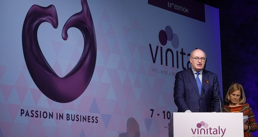 Inaugurazione Vinitaly 2019: Hogan, Salvini, Centinaio, Casellati, Zaia