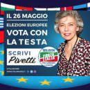 Irene Pivetti, candidata alle Europee per Forza Italia