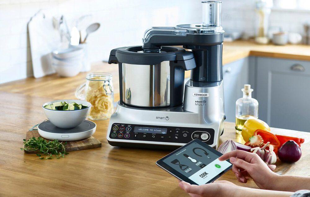 Lezioni di cucina con Kenwood robot da cucina kCook Multi Smart