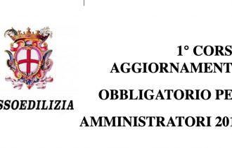 1° corso di aggiornamento obbligatorio per amministratori –