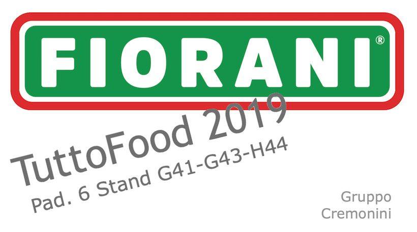 FIORANI&C. a TuttoFood 2019, per una sana alimentazione