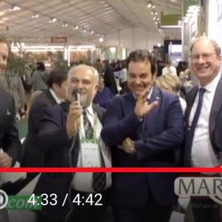 Grappa Marcati festeggia i 100 anni con Daniele Salvagno di Redoro