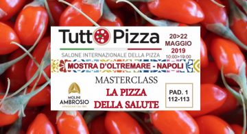 LA PIZZA DELLA SALUTE GOJI ITALIANO A TUTTOPIZZA 2019 A NAPOLI