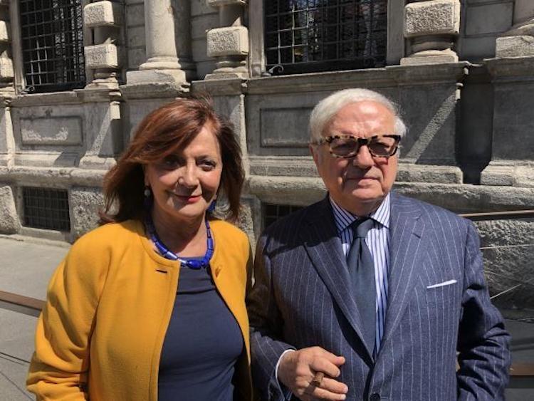 PATRIZIA TOIA (Partito Democratico) INCONTRA ACHILLE COLOMBO CLERICI