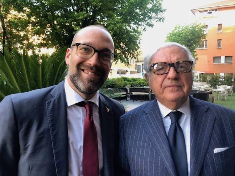 ALESSANDRO PANZA  (Lega) INCONTRA COLOMBO CLERICI