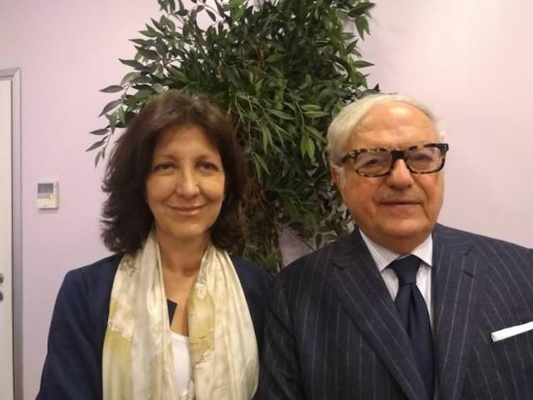 PAOLA EVANGELISTI (Popolari per l'Italia) INCONTRA ACHILLE COLOMBO CLERICI