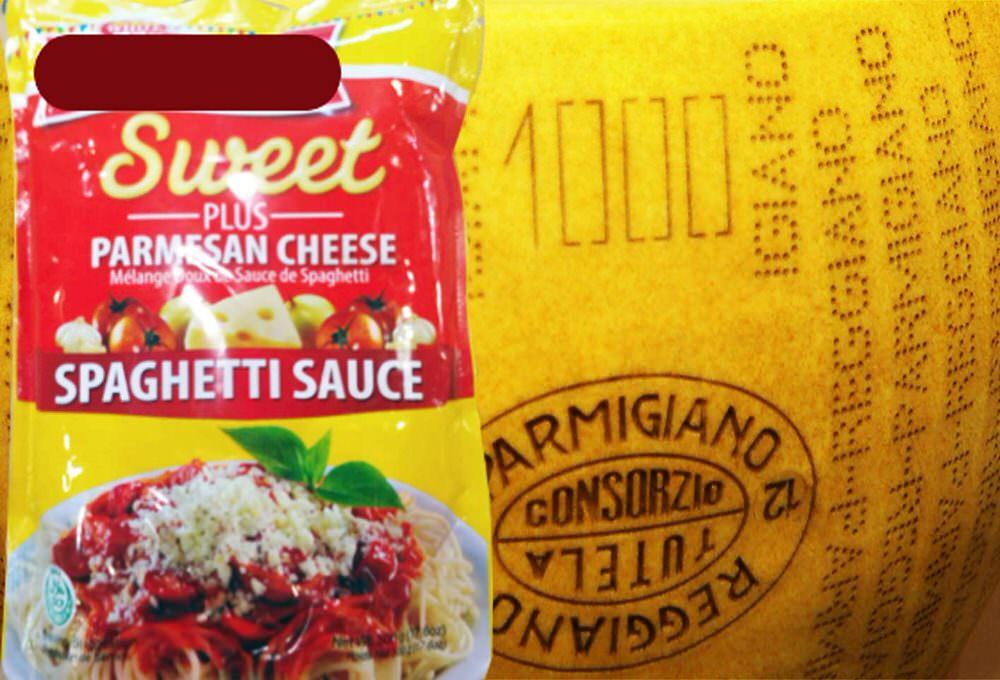 Parmigiano falso: bloccate a GENOVA 7.560 confezioni contenente prodotto contraffatto in arrivo dalle Filippine