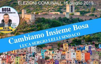 Cambiamo insieme Bosa con Luca Lelli, Candidato Sindaco