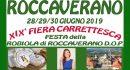 Festa Roccaverano D.O.P.  – XIX Fiera Carrettesca 28 – 29 – 30 giugno 2019 con Tessa Gelisio