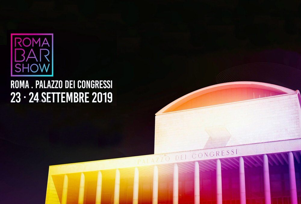 Roma Bar Show al Palazzo dei Congressi dell'Eur il 23 e 24 settembre 2019