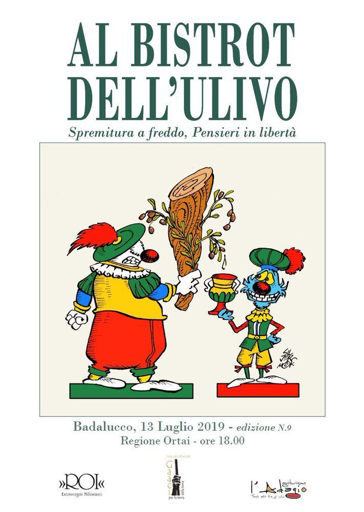 Sabato 13 luglio il Bistrot dell'Ulivo festeggia 10 anni