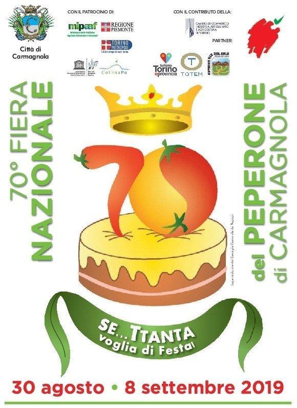 "Carmagnola (TO) celebra ""sua Maestà"" il peperone – 30 ago / 8 set"
