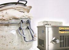 Generare il lievito madre con le attrezzature Esmach