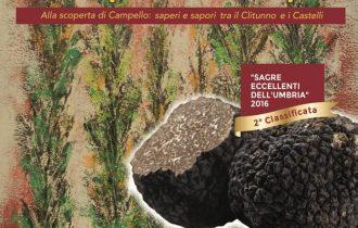 Tartufo e prodotti tipici protagonisti a Spina di Campello sul Clitunno