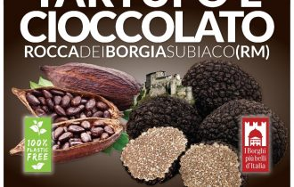 Tartufo e cioccolato, a Subiaco (RM) va in scena un'impedibile accoppiata – 21/29 set