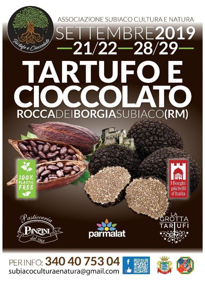 Tartufo e cioccolato, a Subiaco (RM) va in scena un'impedibile accoppiata – 21/29 set
