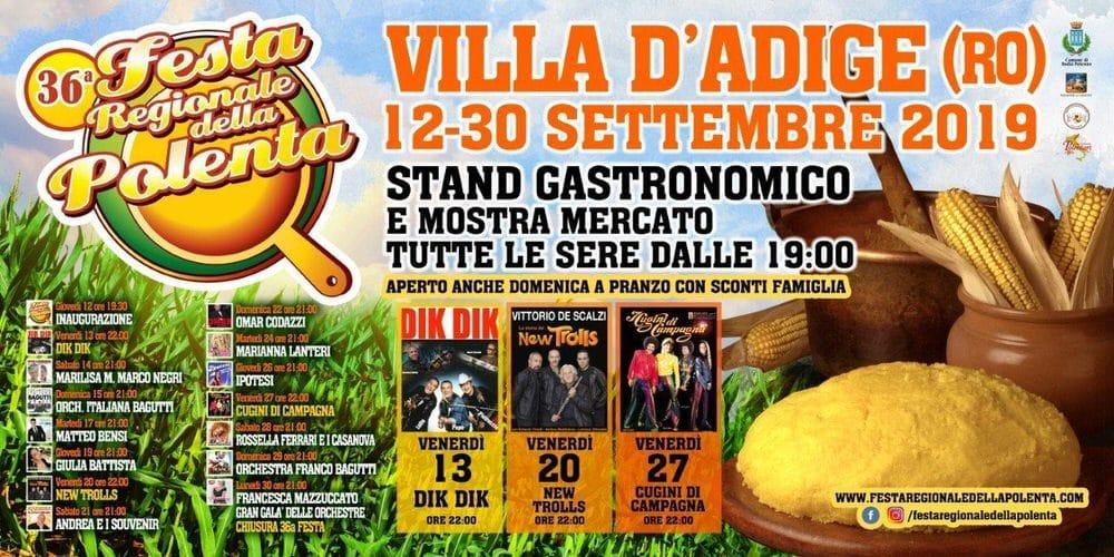 Nella patria della polenta una festa a forti tinte gialle – Villa d'Adige (RO) – 12/30 set