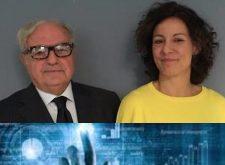 Ministro  Paola Pisano -Innovazione tecnologica e Digitalizzazione- con Achille Colombo Clerici