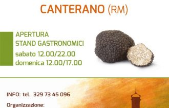 Sagra del Tartufo, a Canterano (RM) i profumi del bosco nel piatto – 12/20 ott