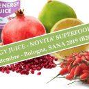TRIS ENERGY JUICE – Novità a SANA 2019 supersucco bio e antiossidante a base di melograno, bergamotto e Goji Italiano